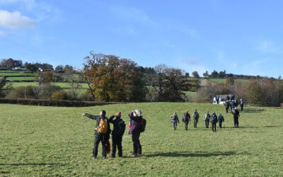 Brecon, a joint walk with Taff Ely Ramblers