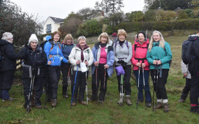 Pentrych, led by Jan and Lynne